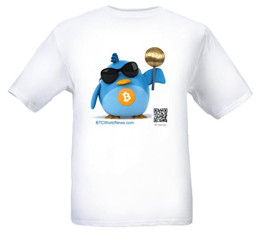 Bitcoin Burdie Shirts