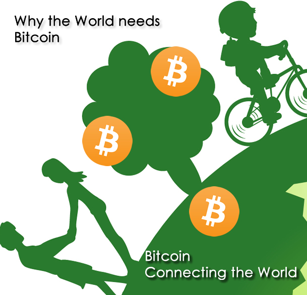 Why the World needs Bitcoin
