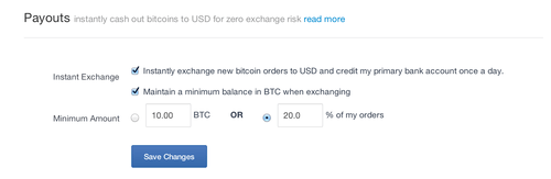 More powerful bitcoin conversion options for merchants