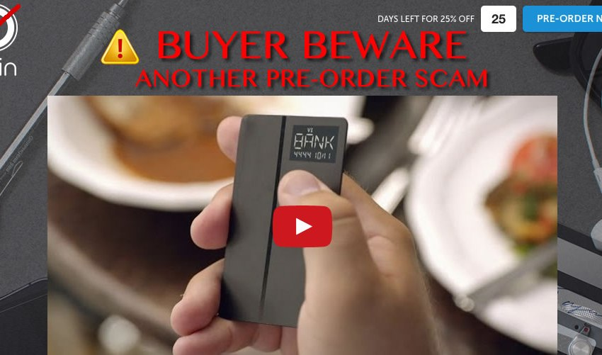 Buyer Beware of Coin Pre-Order Scam