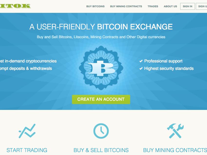 Bitok.com – A User-Friendly Bitcoin Exchange