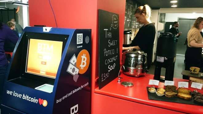 Tech Giant Google Installs Bitcoin ATM in London Campus