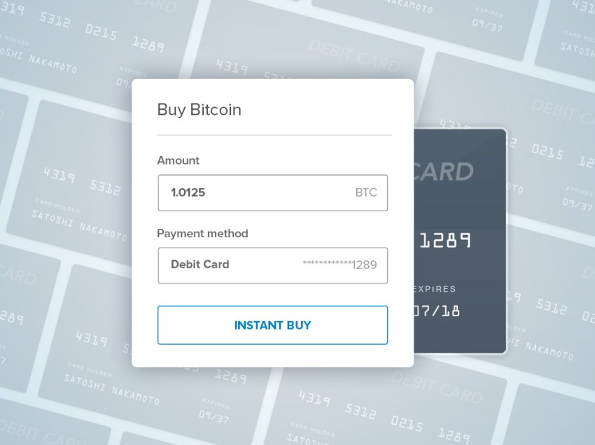 Connect your Debit Card to Buy Bitcoin Instantly