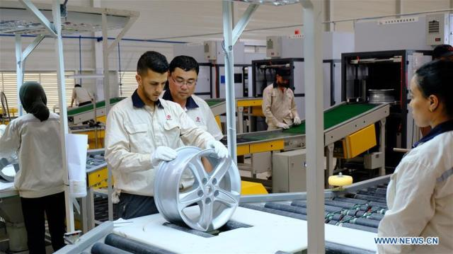 MOROCCO-KENITRA-CHINESE AUTO PART MANUFACTURER-FACTORY-INAUGURATION