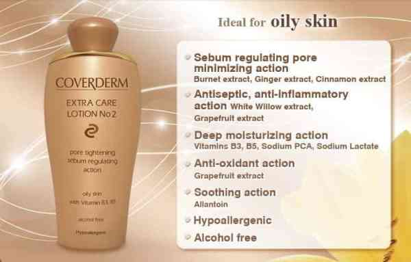 details on Coverderm Camouflage Extra Care Lotion No 2