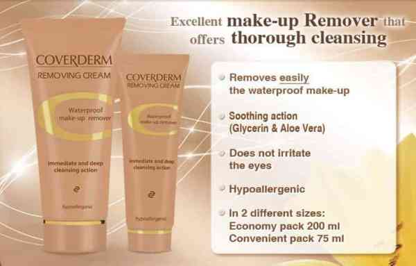 details on Coverderm Removing Cream