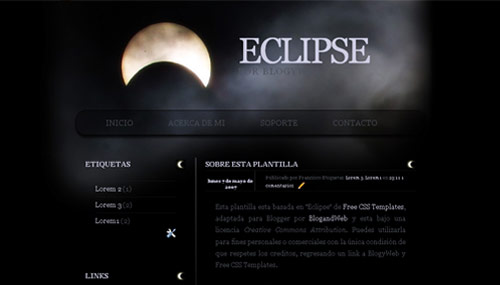 eclipse html template - eclipse blogger template btemplates