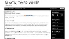 Black over White