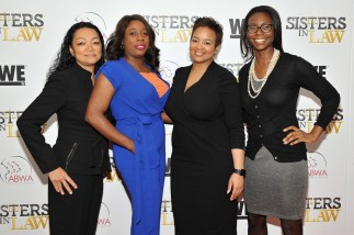 """NEW YORK, NEW YORK - MARCH 23: Members of the the Association of Black Women Attorneys attend as WE tv hosts exclusive premiere screening for new series ""Sisters in Law"" on March 23, 2016 in New York City. (Photo by D Dipasupil/Getty Images for WE tv)"""