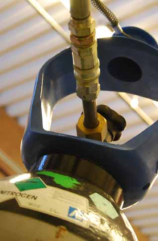 fylling av gass