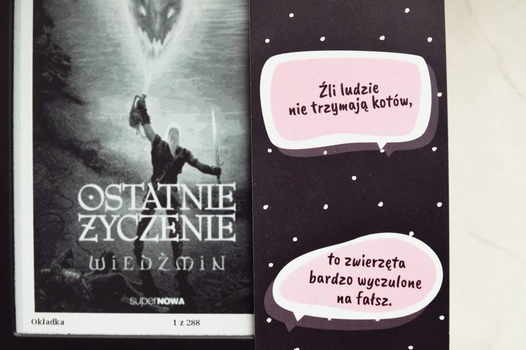 książki - do poczytania - ostatnie życzenie - wiedźmin - sapkowski - recenzja - bthegreat.pl