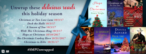 Saint Martin's Press holiday romance blitz banner