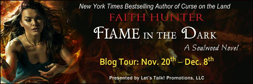 Flame in the Dark blog tour banner