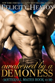 Book Cover Image for Awakened by a Demoness