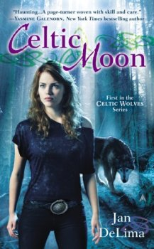 Celtic Moon cover author Jan DeLima