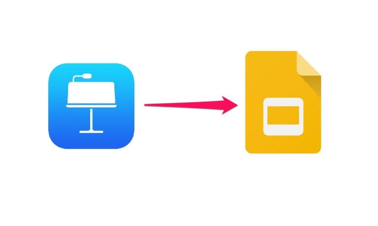 Как конвертировать файл Keynote в Google Slides