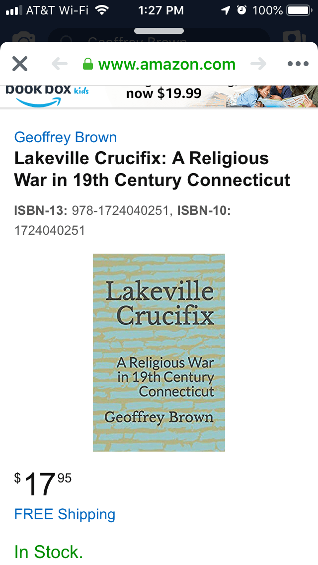 Lakeville Crucifix