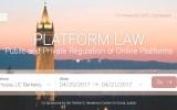 2017 Symposium: Platform Law