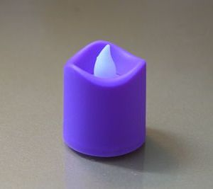 Multi Colors Candles Without Fire 1pcs