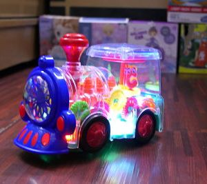 Amazing Train Transparent Toy For Kids