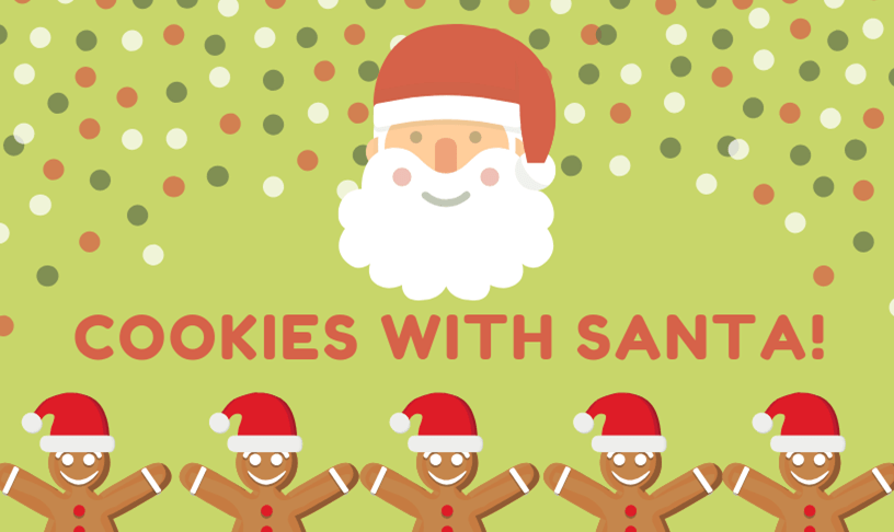 Our Cookies With Santa Is Tomorrow Join Us For A Great Time