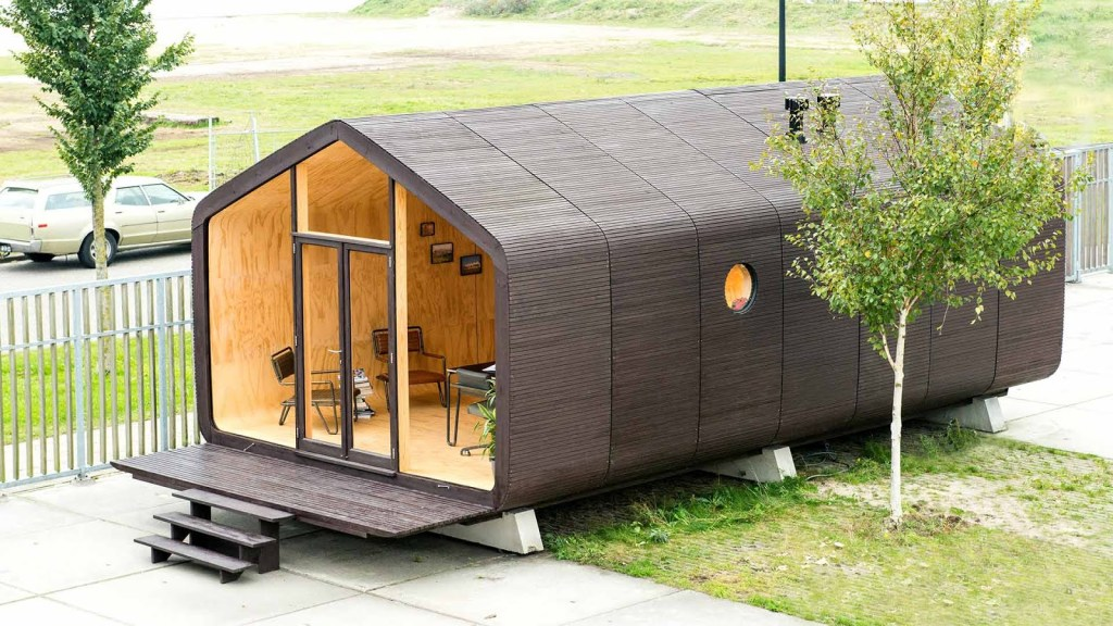 5 Maison futuriste - Maison en carton