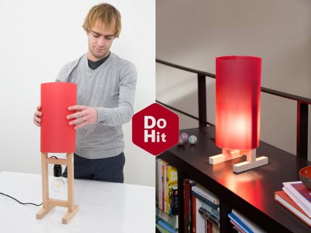 """DIY: Comment créer une lampe """"Paper Light"""""""