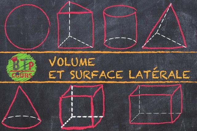 calcul des volumes et surfaces