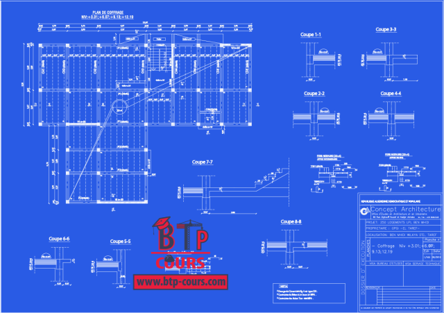 Plan DWG: Plan B.A et Archi