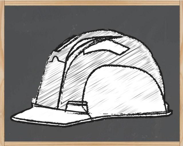 Le casque blanc : chef de chantier, ingénieur, conducteur de travaux et visiteurs: