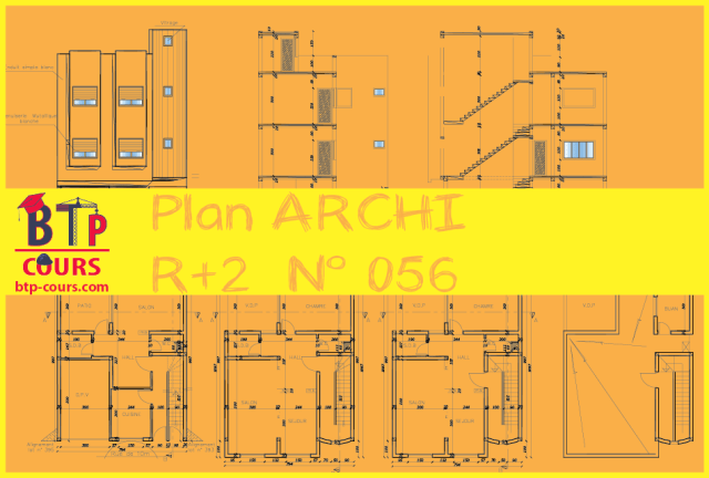 plan architecture autocad