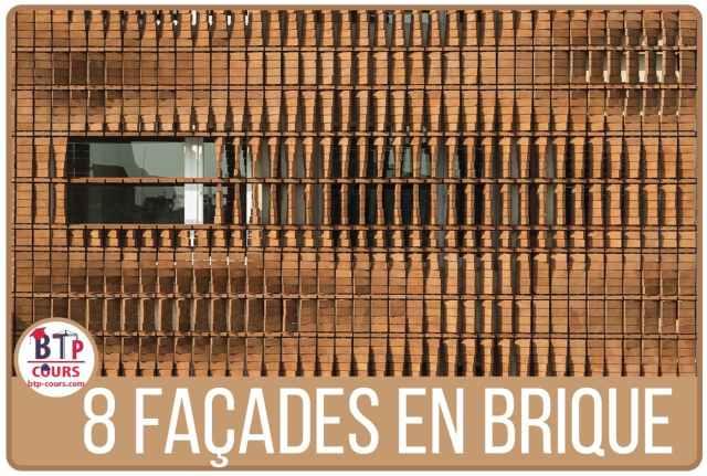 8 façades intéressantes en brique de Stack Bond