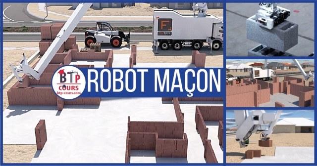 robot construction maison
