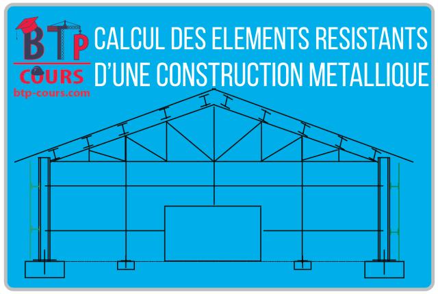 Calcul structure métallique