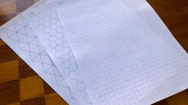 papier vierge sous plusieurs formes