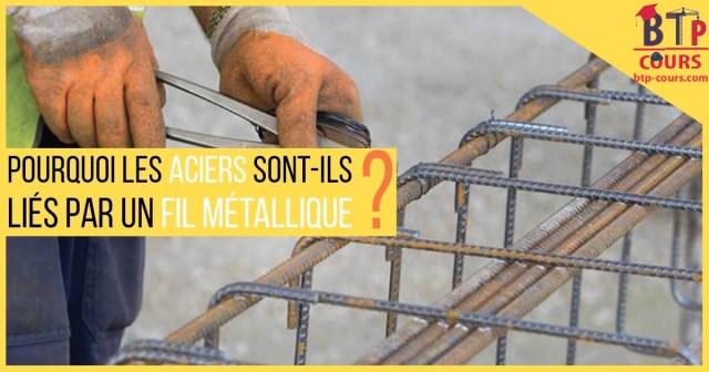 fil de ligature dans la construction