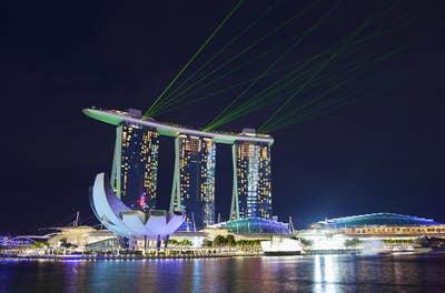 méga-projets d'ingénierie - Marina Bay Sands
