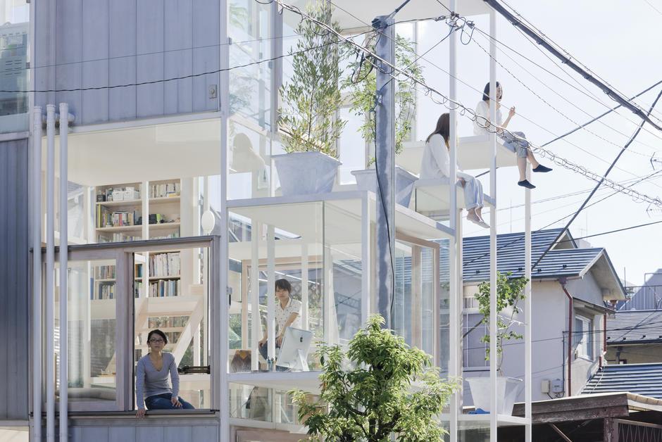La maison transparente (Japon)
