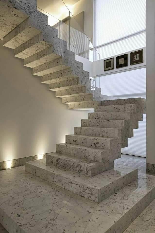 Escalier finis