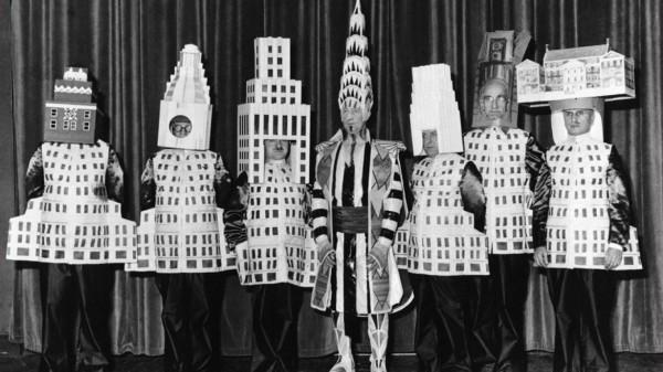 Un septuor d'architectes de la ville de New York