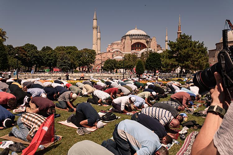 Reconversion de la mosquée Sainte-Sophie en 2020