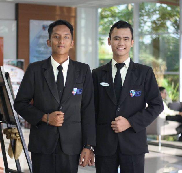 Mahasiswa BTP (Arifin Jonathan dan Oney Cahyanugrah) On The Job Training di THE INTERCONTINENTAL DOHA