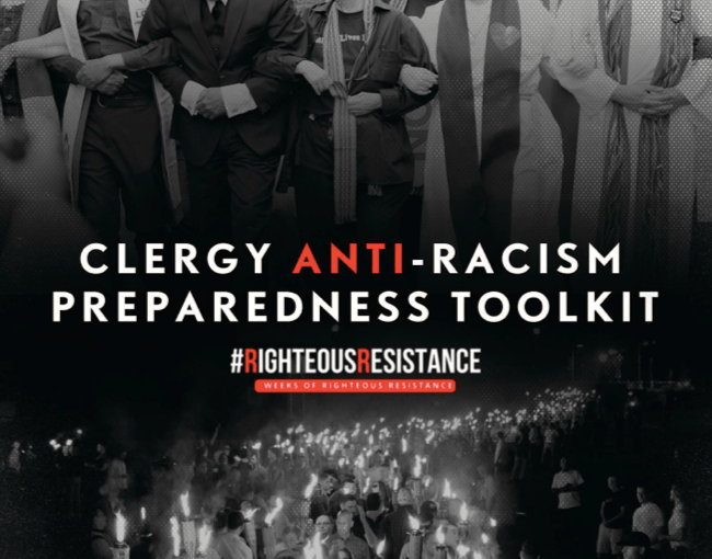 CLERGY ANTI-RACISM PREPAREDNESS TOOLKIT #RighteousResistance