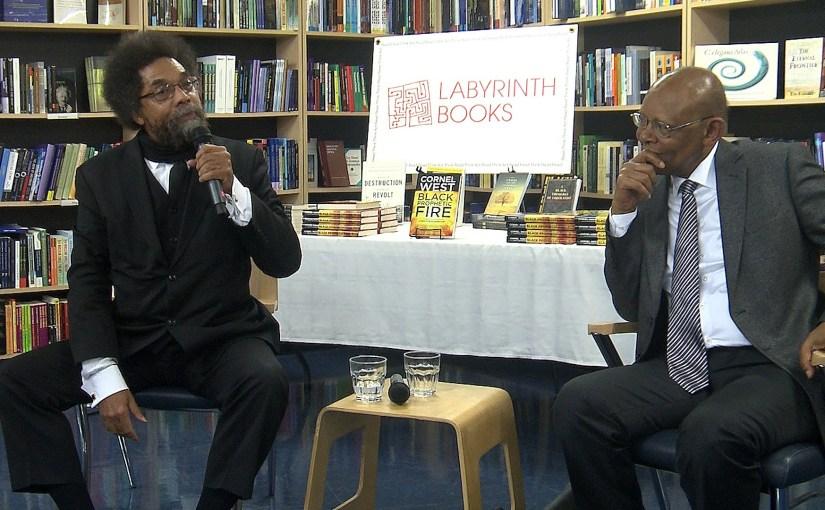 "Dr. Cornel West & Dr. James H. Cone in Conversation -""Black Prophetic Fire"" Book Talk"