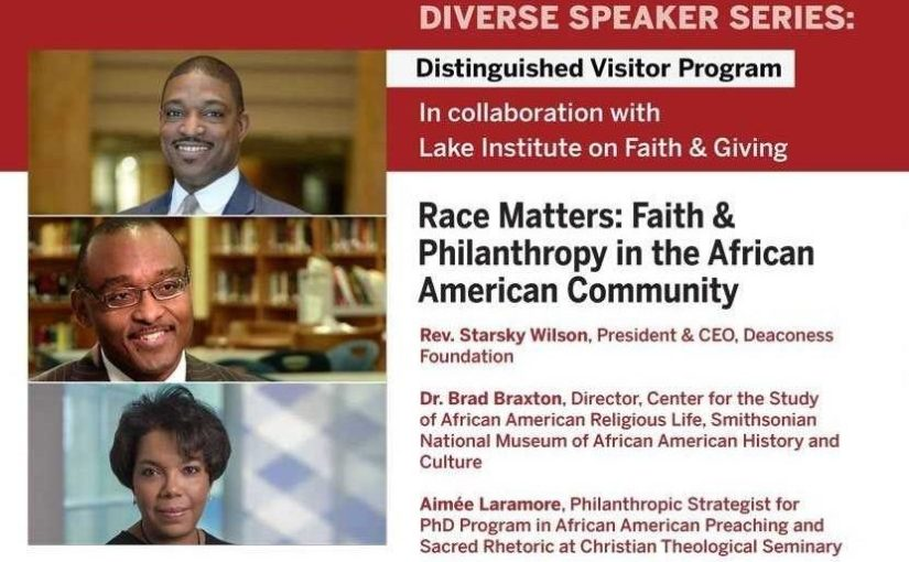 Race Matters: Faith & Philanthropy in the African American Community