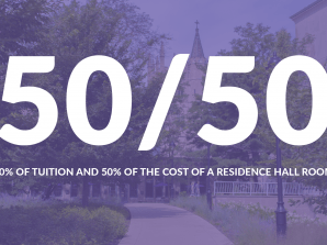 New 50/50 Scholarship for Masters Degree Students Entering Fall 2021