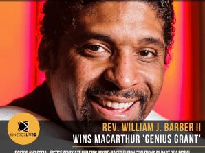 """Rev. William J. Barber II Wins MacArthur 'Genius"""" Grant"""