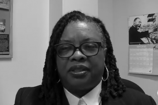 Rev. Dr. Teresa L. Smallwood: Developing a Public Theology in a Time of Militarism #MLKGLOBAL