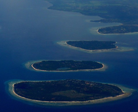 The 3 Gili Islands, Indonesia