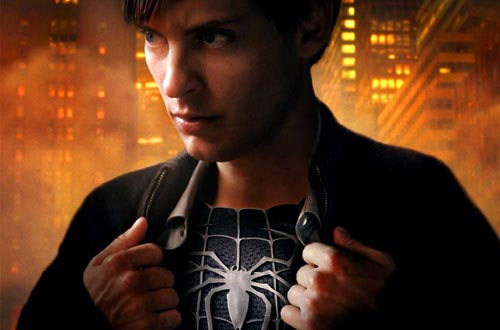 spider-man 3: peter parker looks like peter petrelli of heroes